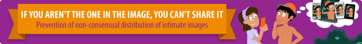 If you aren't the one in the image, you can't share it - Prevention of non-consensual distribution of intimate images